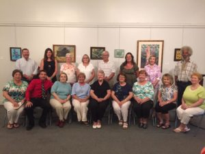 The 2016 Apple Festival Art Exhibit participants.