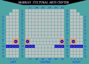 Markay Cultural Arts Center map
