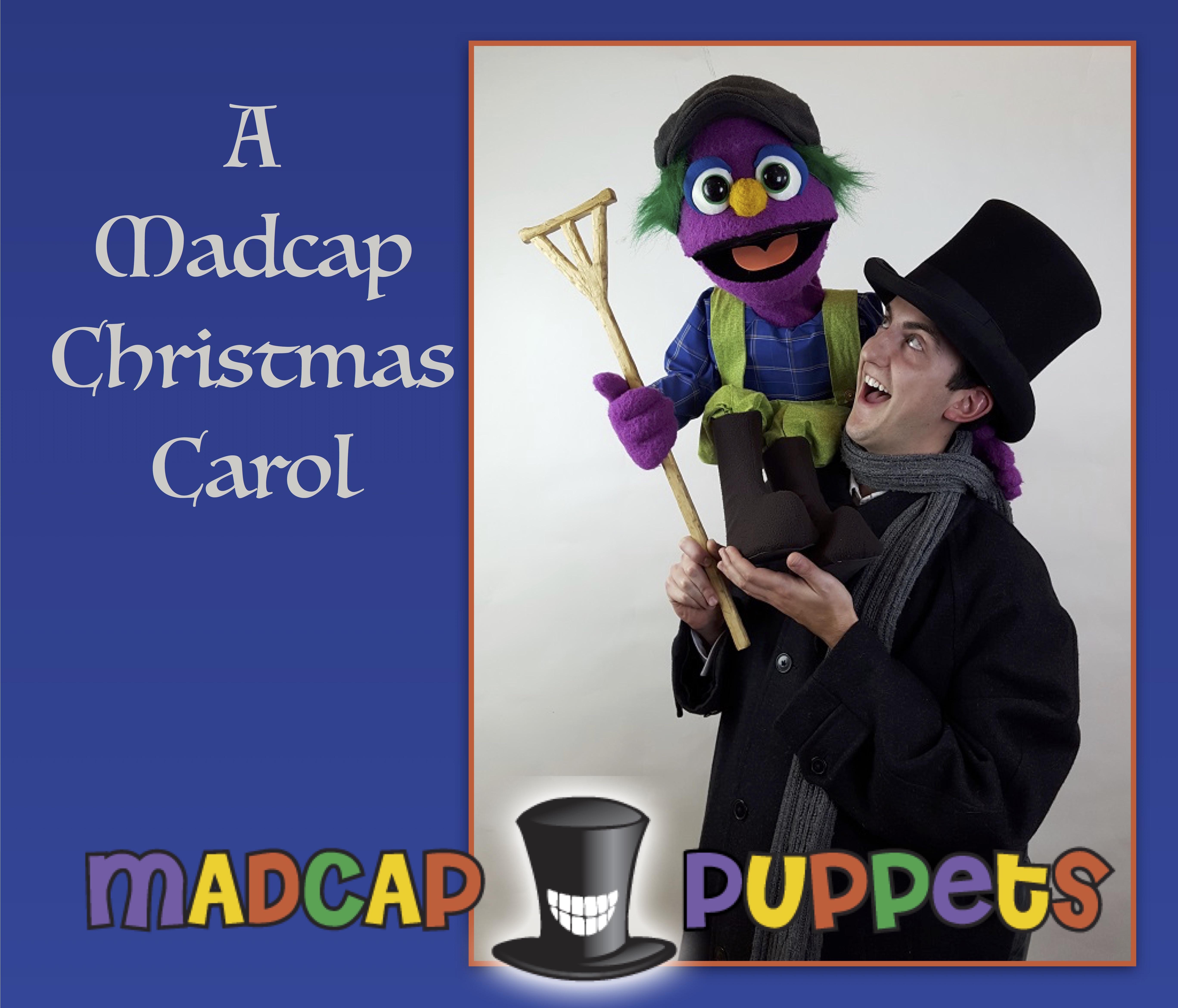 Image Result For Christmas Carol Tiny Tim Puppet: A Madcap Christmas Carol