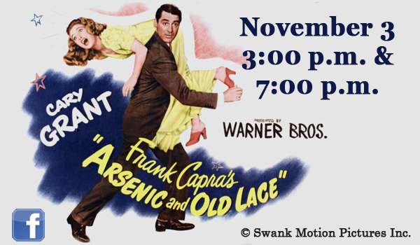 slide show ad - movie -Arsenic old lace